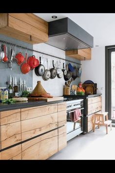 Amazing natural Boleform kitchen. Inspiring