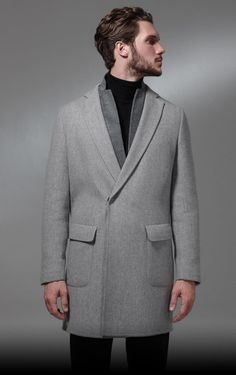 Greatcoat - Tonello Autumn/Winter 2013-14 MAN