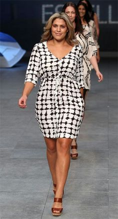 Curves took over Mercedes-Benz Sydney Fashion Festival this week when Australian department store Myer launched its latest plus-size collection in a runway