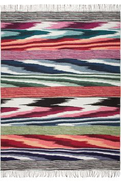 Missoni Home | Oberon wool and cashmere-blend throw