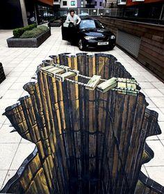 Portfolio | 3D Street Art | Experiential Social Media