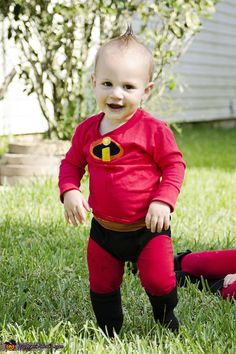 The perfect little Jack Jack!!!, The Incredibles Family Costume