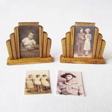 Miniature Dollhouse  Barbie 1//12 Scale Book Fashion Clothes Erte Art Deco C