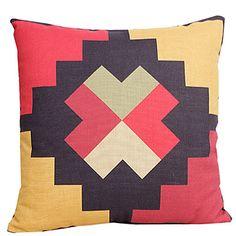 Kraj Piękne Geometryczne Bawełna / Pościel dekoracyjne poduszki Okładka – USD $ 12.99