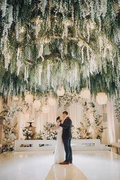 Wedding Goals, Wedding Planning, Event Planning, Perfect Wedding, Dream Wedding, Wedding Dreams, Wedding Ceiling, Chandelier Wedding Decor, Twilight Wedding