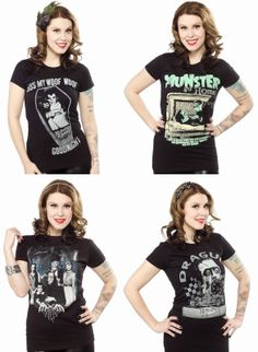 Coffin Kitsch: Kitsch Picks : Munsters Go Home T-Shirts by Rock R...