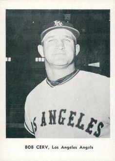 1961 Jay Publishing Los Angeles Angels #NNO Bob Cerv Front