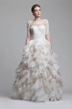 Be a Blushing Bride Ball Dresses, Ball Gowns, Bridal Gowns, Wedding Dresses, Gown Wedding, Inspirations Magazine, Full Skirts, Camille, Formal Wear