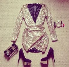 dress gold sequin dress prom dress glitter dress cute dress sexy short dresses shoes