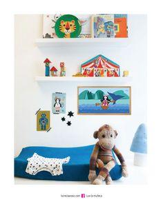 CUADRO LUX VERANO Lux la Muñeca. Lámina ilustrada enmarcada en madera. #ilustracion #illustration #pink #muñeca #deco #kids Facebook: lux la muñeca Ventas : tienda.citarte.net