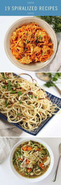 Spiralized Healthy, Delicious Recipes from @babble
