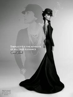 Coco Chanel Barbie - Refugio Rosa (David Bocci)