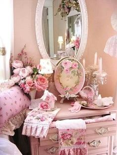 Enveloped in Pink and loving every bit of it. - MRW