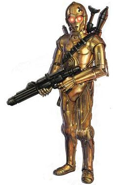 C-3PX, Cybot Galactica 3PX-series protocol droid programmed as an assassin droid.