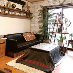 ranranさんの、IKEA,グリーン,雑貨,DIY,ディスプレイ,こたつ,見せる収納,脚立,建て売り,インスタ→TOMOOO.25,のお部屋写真