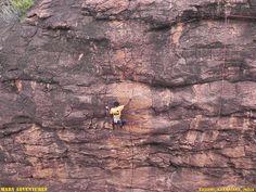 Rock Climbing @ Badami, India