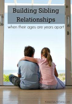 Building Sibling Relationships - Keeping Life Sane
