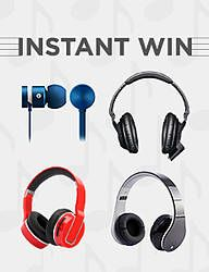 CLICK HERE TO PLAY (1) Grand Prize: One (1) Winner will receive one (1) pair of Bluetooth Headphones designated by Sponsor. (1) First Prize: One (1) Winner will receive one (1) pair of In Ear Headphones with Inline Mic and Remote designated by Sponsor. (1) Second Prize: One (1) Winner will receive one (1) pair …