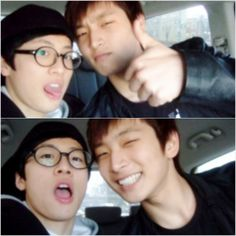 Pre-debut photos of 2AM's Jinwoon and Big Star's FeelDog gather interest