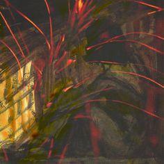 Heinz Czechowski: Auf eine im Feuer versunkene Stadt