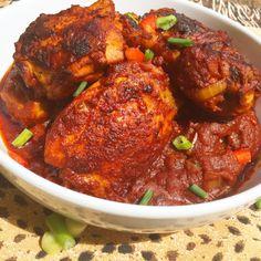 Zimbabwean Chicken Stew
