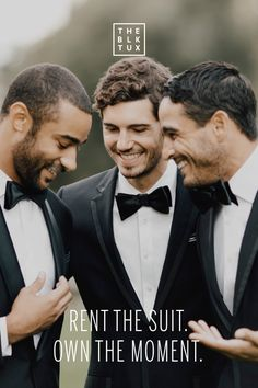 There are a lot of beautiful wedding traditions, but renting from a warehouse isn't one of them. Rent a modern suit or tuxedo that actually fits, delivered a full two weeks before your wedding. Shipping's free both ways.
