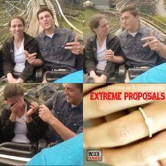 💗 💎💍💗 #SayYesSaturday: #Extreme #Proposal Ideas  3. 🎢 The #Rollercoaster Proposal... {Follow Pinterest's photo link for full details!} ✨ #PutARingOnIt 💎💍  ✨ #love #rollercoaster #surprise #weddingseason #couple #bridetobe #groom #thrill #adventure #travelpin #seetheworld #globetrotter #cool #travel #wanderlust #romantic #Pinterestlove #relationshipgoals #engagementring #engagement #wedding #photooftheday #photography #SaturdayNight #fun #adventuretime