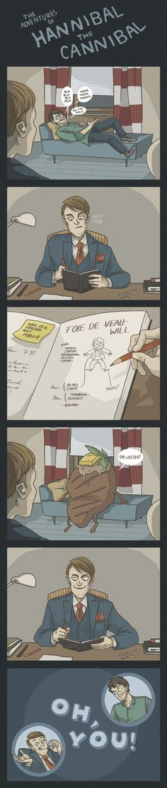 (Comic) The Adventures of Hannibal the Cannibal #1 by ekzotik on deviantART