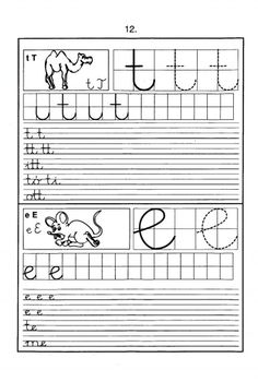 Handwriting Worksheets, Home Learning, Creative Teaching, Cursive, Preschool, Sheet Music, Album, Archive, First Class