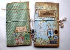 Creaciones Izzy: Travel Journal - Diario de Viaje