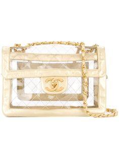 Chanel Vintage Jumbo Shoulder Bag - Farfetch f0aa6dfe3d880