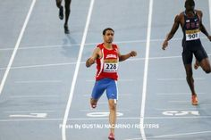 Luguelin Santos, the 19 year old from Bayaguana, earned the silver in the 400M at the London Olympics 2012