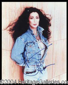 Autographs, Cher