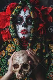dia de los muertos la catrina – Google Søk Tarot, Halloween Face Makeup, Joker, Skull, Fictional Characters, Image, Google, La Catrina, Day Of The Dead