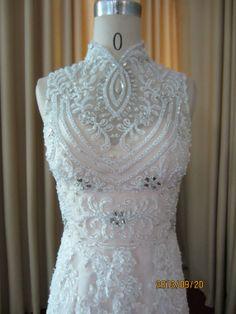 Pretty!!    Sweetheart Lace Wedding Dress Mermaid Wedding Dress  by Whitesrose, $568.00