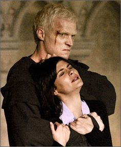 Paul Bettany as Silas in the Da Vinci Code. This character also makes me sad.