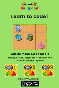 Fun, educational, accessible iPad games for blind or visually impaired children Basic Coding, Computational Thinking, Educational Software, Best Ipad, Experiential Learning, Core Curriculum, Learn To Code, Early Learning, Blinds