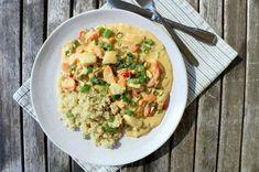 Kreolsk torskegryte - LINDASTUHAUG Risotto, Food And Drink, Ethnic Recipes, Oslo, Pisces