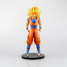 Dragonball Action Figure Cartoon characters Super Saiyan 3 Sun Wukong Action Figure Hand do 30cm Model Furnishing Articles //Price: $US $62.54 & FREE Shipping //     #clknetwork