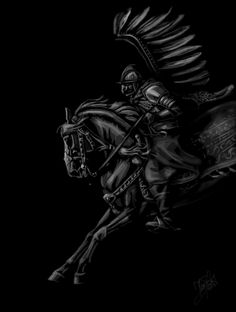 Winged rider - alternative by ThunderboltFire