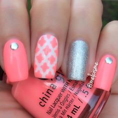 Why not Moroccan? @Melcisme's style is absolutely spectacular! ≫ Moroccan #NailVinyls www.snailvinyls.com