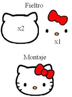 Discover thousands of images about Hello Kitty purse pattern Hello Kitty Crafts, Hello Kitty Themes, Felt Patterns, Applique Patterns, Loom Patterns, Cat Crafts, Diy And Crafts, Sacs Tote Bags, Hello Kitty Birthday