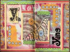 Art Happens: Altered Art Journal Letter Y