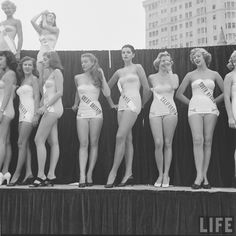 The First Miss Universe Pageant, 1952 | Messy Nessy Chic