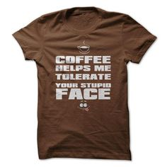 Funny Coffee T-Shirts - #gift box #creative gift. LIMITED TIME PRICE => https://www.sunfrog.com/Funny/Funny-Coffee-T-Shirts-Ladies.html?68278