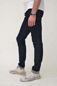 Dark Denim Skinny Peanut Jeans