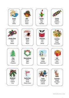 Hearsaylw christmas taboo game for listening language and learning taboo reheart Gallery