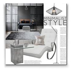"""Minimalist Style"" by marionmeyer on Polyvore featuring interior, interiors, interior design, Zuhause, home decor, interior decorating, Modo, Sunpan, Tom Dixon und Juliska"