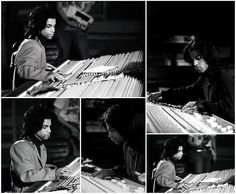 Amazing never before seen or shared photo of Prince at work behind the mixing console in Olympic Studios, London, England. Photos taken during the filming of the BBC Omnibus documentary, early to mid 1989, kind of the Rave Unto The Joy Fantastic era that never materialized.