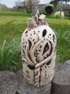 Häuserkuppel von Keramikwerkstatt - Conni`s Keramik und ausgefallene Bilder auf DaWanda.com
